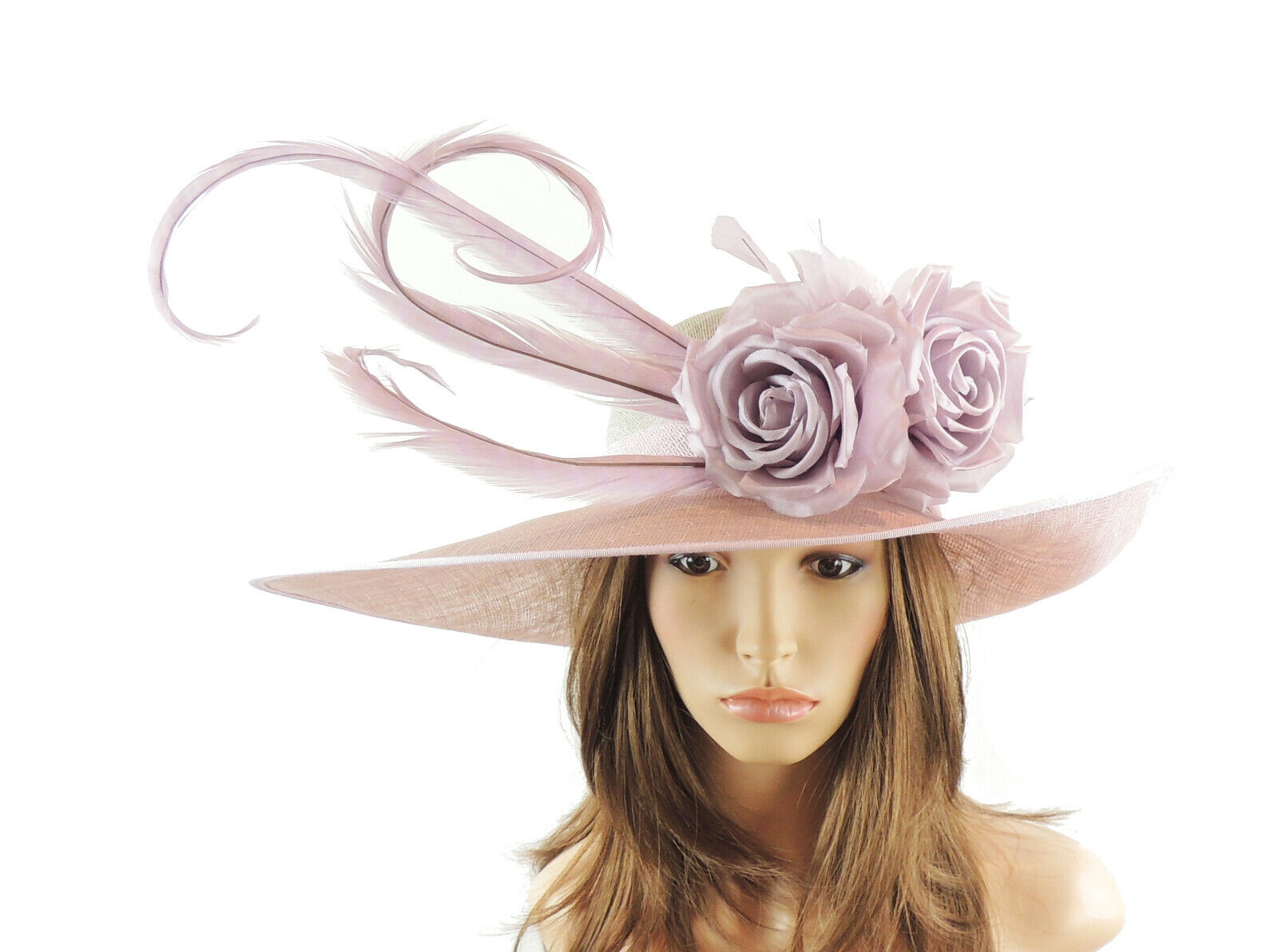 Lilac Ascot Hat for Weddings, Ascot, Melbourne Cup HA