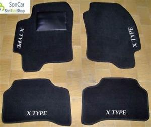 4 block JAGUAR X TYPE TAPPETI AUTO SU MISURA 4decori