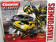CARRERA 62333 GO TRANSFORMERS AUTOBOTS DECEPTICON NEW 1/43 GO SLOT CAR RACE SET