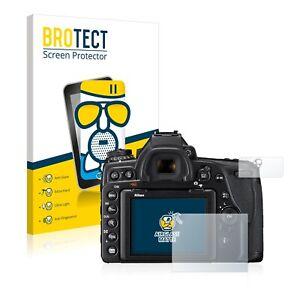 Schutzpanzer Glasfolie für Nikon D780 Matt Panzerfolie Displayschutzfolie