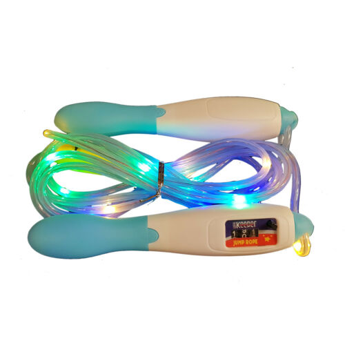 Blu Bianco accendere una corda per saltare Multi Colore Glow