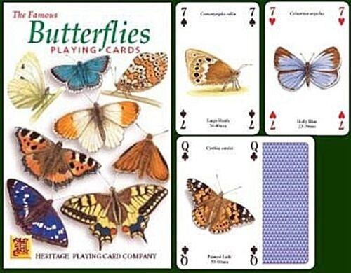 hpc jokers Butterflies set of 52 playing cards