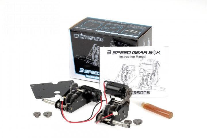 Waltersons  alta qualità 5 1 upgrade acciaio 3-SPEED riduttori per 1 16 RC Serbatoi  alta qualità genuina