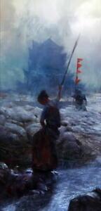 "067 Japanese Samurai Combat Warrior from Japan Art Print 14/""x21/"" Poster"