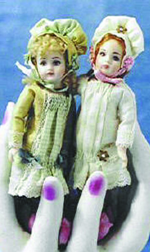 "4/"" Reproduction Antique Doll Molds by Doreen Sinnett"