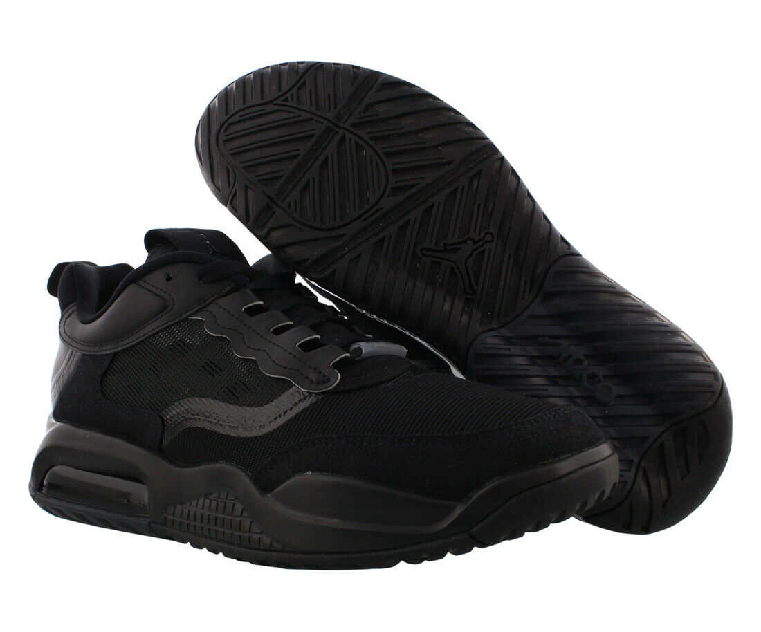 Jordan Max 200 Mens Shoes Size 10.5, Color: Black/Black