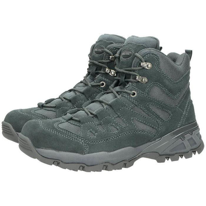 Mil-Tec Squad Stiefel Stiefel Stiefel 5 Inch Schuhe Trekkingschuhe Outdoorschuhe Grau a48375