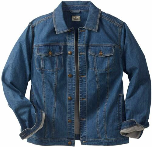Liberty Blues Men/'s Big /& Tall Denim Jacket