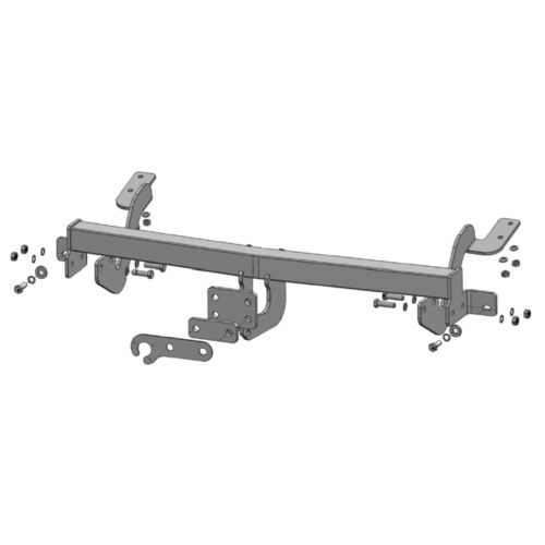 Flange Tow Bar Towbar for Citroen Berlingo Multispace L1 2008-2018