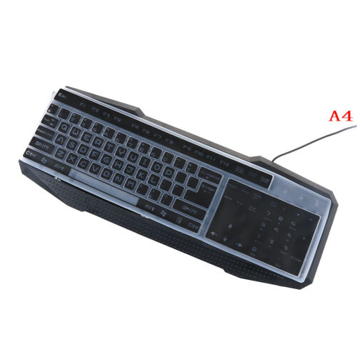 1PC colorful silicone universal desktop computer keyboard cover skin protector