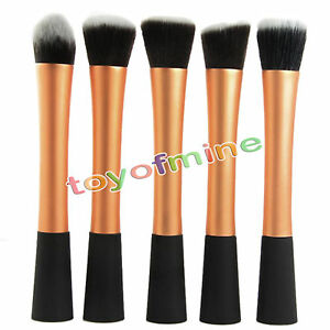 Professional-Cosmetic-Stipple-Fiber-Powder-Blush-Brush-Foundation-Makeup-Tool
