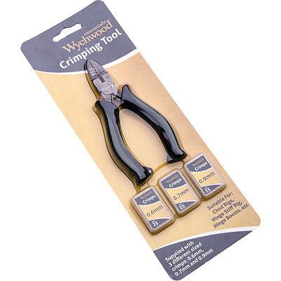 0.7 Pk//25 Wychwood Crimping Tool Including Crimps or Crimps only 0.9mm 0.6