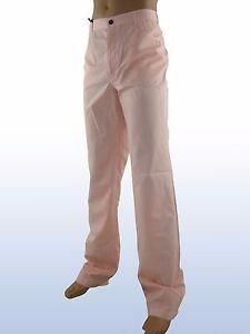 Pantalone-uomo-rosa-salmone-dritto-made-italy-taglia-it-56-ungaro-w-42-xxl-p-e