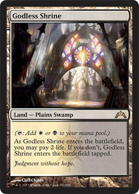 Godless Shrine x1 Magic the Gathering 1x Gatecrash mtg card