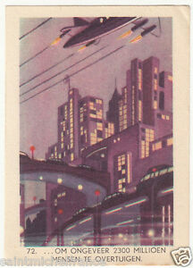 N-72-VILLE-FUTUR-FUSEE-ROCKET-CITY-TRAVEL-ASTRONAUTIC-ESPACE-SPACE-IMAGE-CARD
