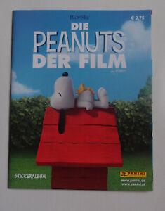 Panini-Sammelalbum-Leer-Die-Peanuts-Der-Film