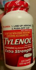 TYLENOL EXTRA STRENGTH 224 COUNT CAPLETS