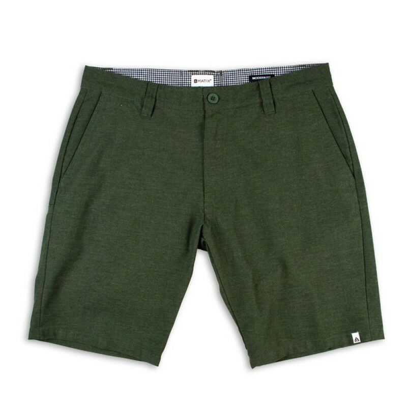 MATIX Welder Modern Heather Short (34) Forest