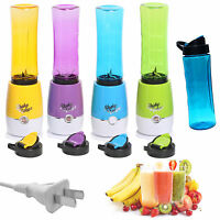 Electric Juicer Blender Kitchen Sport Bottle Smoothie Maker Drink Fruit Us Stock
