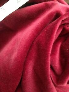 Designer Curtain Fabric Prestigious Rich Wine Cotton Velvet 17 Metre Roll - <span itemprop=availableAtOrFrom>Bridgnorth, Shropshire, United Kingdom</span> - Full 40 metre rolls can be returned up to 14 days after delivery. Cut lengths to order are non refundable Most purchases from business sellers are protected by the Consumer - Bridgnorth, Shropshire, United Kingdom