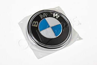 genuine bmw e83 heckklappe bmw emblem abzeichen logo zeichen oem 51143401005 ebay. Black Bedroom Furniture Sets. Home Design Ideas