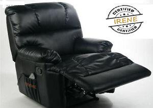 Sillón relax con masaje y calor lumbar Sillon IRENE Alta Gama ORIGINAL
