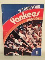 1971 New York Yankees Official Team Yearbook Bobby Murcer Thurman Munson