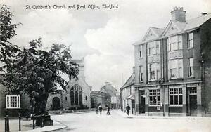 Post Office Thetford old postcard used 1916 Jarrold039s series - Dorchester, United Kingdom - Post Office Thetford old postcard used 1916 Jarrold039s series - Dorchester, United Kingdom