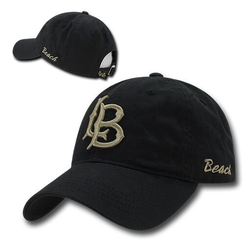 Cal State Long Beach 49ers University Cotton Polo Style CSULB Baseball Cap Hat