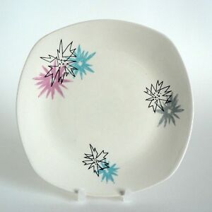 MIDWINTER-POTTERY-QUITE-CONTRARY-6-5-034-SIDE-PLATES-TEA-CAKE-SANDWICH-PLATE-TAIT