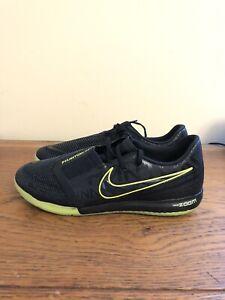Nike-Zoom-Phantom-Venom-Pro-IC-Black-Volt-BQ7496-007-Indoor-Shoes-Size-8-Men