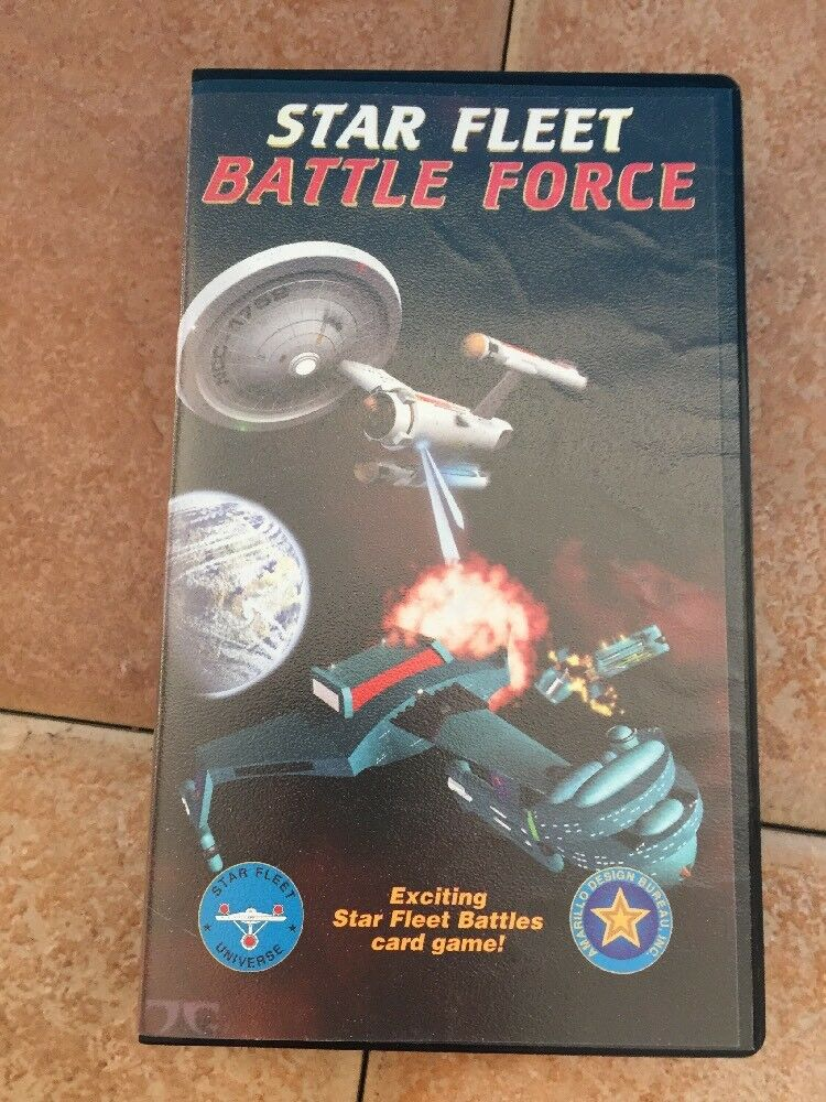 STAR FLEET BATTLE FORCE jeu de carte Star Fleet Battles jaune fermé cartes