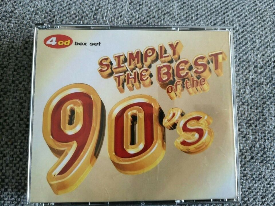 Diverse kunstner: Simply The best of the 90`s, pop