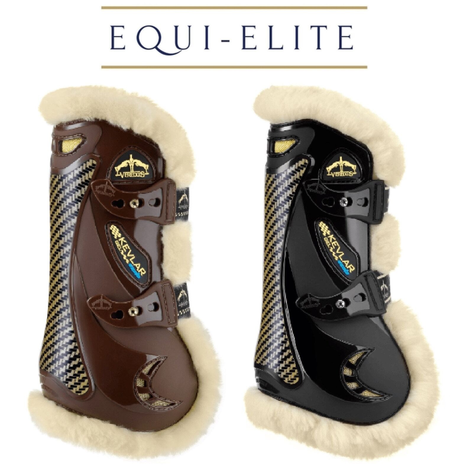 Veredus Gel Vento STS Professional Tendon Boots - Made with Kevlar Predection