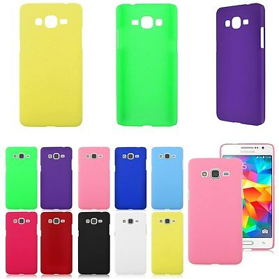 Hard Rubberized Matte Cover Case For Samsung Galaxy Grand Prime SM-G530H G5308W