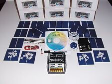 Learn to build your own solar cells panels diy kit  AND 10 AMP CHARGE CONTROLLER