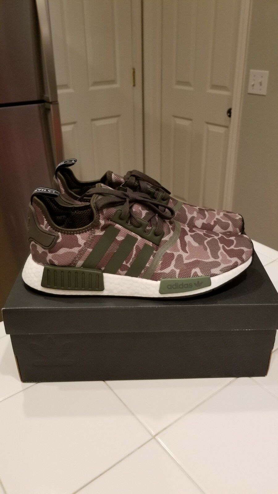 ADIDAS ORIGINALS NMD R1 BOOST SHOES CAMO D96617 CAMOUFLAGE NEW MENS SIZE 10