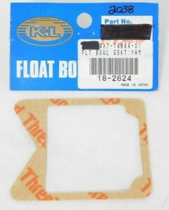 Yamaha #4X7-14984-01-00~ 18-2624 K/&L Supply Float Bowl Gaskets