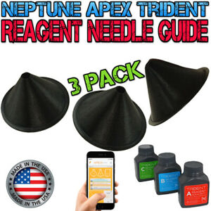 Guide for Trident Reagent Needle - Set of 3 - Reef Safe - APEX Neptune- 3D Print