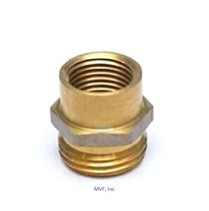 Image Is Loading GARDEN HOSE FITTING 3 4 034 MALE GHT