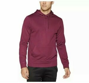 Starter Men's AUTHEN-TECH Pullover Hoodie SMALL Maroon NEW with Tags