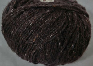 17-100-g-50-g-Rowan-FELTED-TWEED-Fb-145-Treacle-braun-Lot-0140-3559