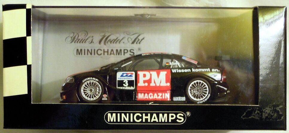Minichamps 430004803: OPEL v8 Coupe DTM 2000 Team legni,  3 U. laminazione, NUOVO & OVP