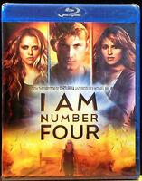 I Am Number Four (blu-ray Disc, 2011) Dianna Agron, Callan Mcauliffe