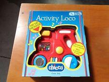 CHICCO ACTIVITY LOCO 3-24 MESI SCORREVOLE CON 6 ATTIVITA' NUOVO VINTAGE ANNI 80