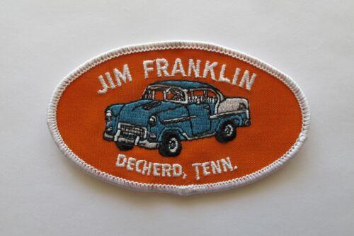 VINTAGE JIM FRANKLIN DECHERD,TN AUTOMOTIVE PATCH