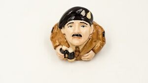Field-Marshall-Montgomery-Ceramic-Face-Pot-by-Kevin-Francis-signed-war-military