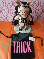 4 Victoria's Secret Trick Or Treat Bags Drawstring Gift /jewelry Pouch Halloween