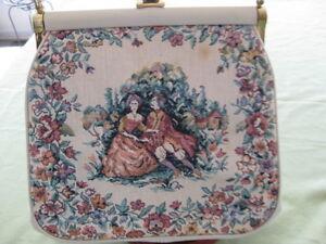 Image Is Loading Jr Florida Vintage Tapestry Purse Handbag Julius Resnick
