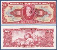 BRASILIEN / BRAZIL 10 Centavos (1966-67)  UNC  P.185 a